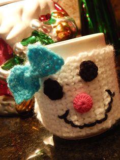 My Winter Snowgirl mug hugger