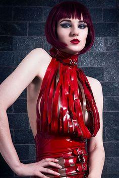 Model: Sara ScarletPhoto: Paige AddamsMU: Mua DjenienLatex: HW Design