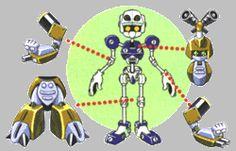 medabot esqueleto - Pesquisa Google