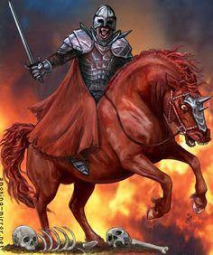 200+ Best Horses of the Apocalypse images in 2020 | black horse, great sword, apocalypse