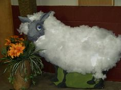 Babylon VBS easy styrofoam sheep