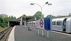 A view of the Piccadilly Line's northern terminus in June 1989. The station was…