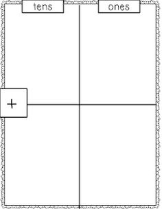 double digit addition on pinterest addition and subtraction worksheets and tens and ones. Black Bedroom Furniture Sets. Home Design Ideas