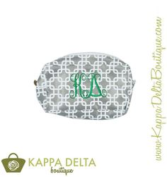 JUST IN! KD Boutique Trellis Cosmetic Bag