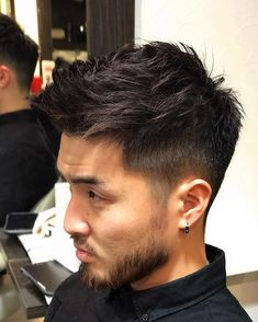 Men's Hairstyles Take On a Sexy New Look! Asian Man Haircut, Asian Men Hairstyle, My Hairstyle, Mens Hairstyles Fade, Hairstyles Haircuts, Haircuts For Men, Medium Hair Cuts, Medium Hair Styles, Short Hair Styles