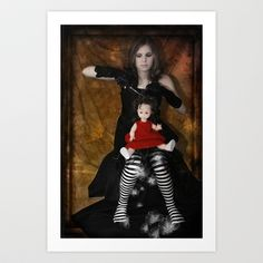 the doll Art Print by ppatphoto - $14.56