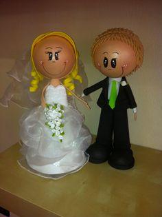 Svatební postavičky -fofucha