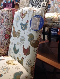 Rooster Print Chair From Pier 1 Lovely Inspiring