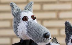 arMi-arMa: Lobos a crochet