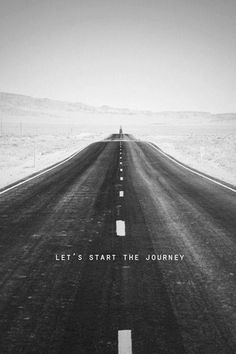 This is how every journey feels when starting: cold, a long road that could possibly lead to nowhere, just go anyway.