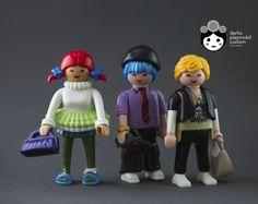 Harajuku boys and girl Playmobil custom