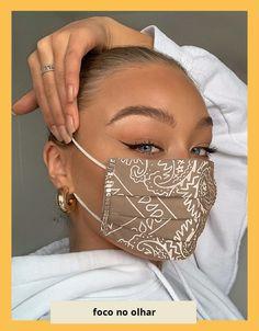 Diy Fashion, Ideias Fashion, Womens Fashion, Korean Fashion, Fashion Tips, Estilo Grunge, Fashion Face Mask, Diy Face Mask, Face Masks