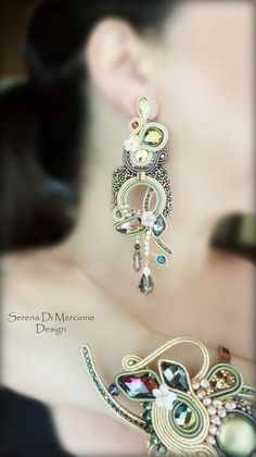 Soutache Parure by serena Di Mercione