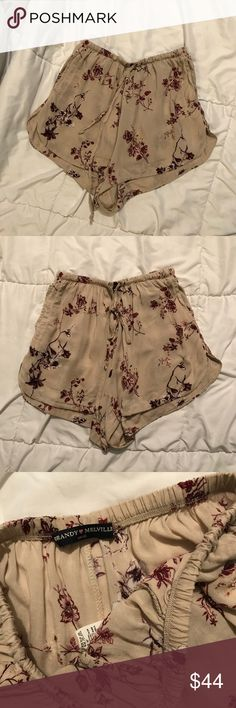 Brandy Melville Floral Eve Shorts Brandy Melville Floral Eve Shorts beautiful pattern selling & looking to trade for yellow Floral eve shorts or these dark blue/black Floral eve shorts Brandy Melville Shorts