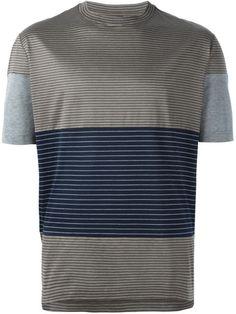 Lanvin Camiseta com listra