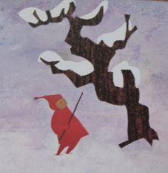 The Snowy day.  Ezra Jack Keats.