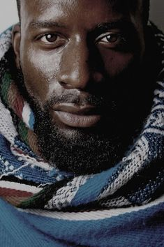 Well, hello.....I wish I knew your name. Bearded, exquisite, and Black