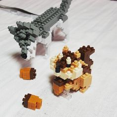 "9 mentions J'aime, 1 commentaires - Nessie B (@nessie.b) sur Instagram : ""Nanoblocks are soo super cute! :D  #nanoblock #buildingblocks"""