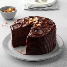 Fill my mouth😋 salivate my tongue😝, sweeten my throat😍 and fill my stomach and let me have a sweet death by chocolate -Chocolate Hazelnut Torte Hazelnut Torte Recipe, Hazelnut Recipes, Chocolate Hazelnut Cake, Chocolate Recipes, Flourless Chocolate, Chocolate Chocolate, Brownie Recipes, Best Cake Recipes, Dessert Recipes