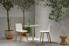 Den Stuhl HAL Wood von Vitra