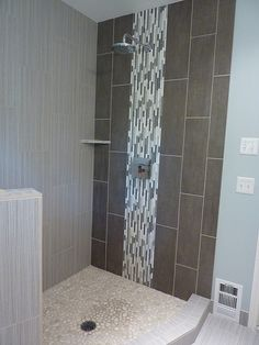 Design question re shower tile                                                                                                                                                      More