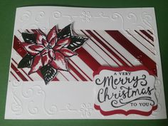 Reason for the Season Stamp Set. Poinsettia Cards, Homemade Christmas Cards, Stamping Up, Paper Art, Gift Tags, Craft Projects, Catalog, Card Making, Scrapbooking