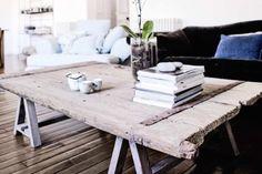 old wooden door - table