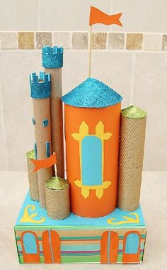 10 crafts for kids from recycled materials - BestMomsTV : BestMomsTV