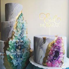 geode cakes - liyanaosman