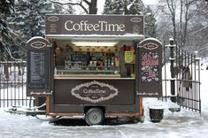New food truck ideas coffee mobile cafe Ideas Starting A Coffee Shop, Opening A Coffee Shop, Small Coffee Shop, Coffee Shop Design, Great Coffee, Mini Food Truck, Coffee Food Truck, Food Trucks, Coffee Van
