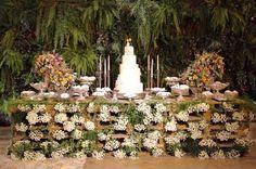 Mother of the Bride - Blog de Casamento e Dicas de Casamento para Noivas - Por Cristina Nudelman: Mesa de doces com paletes de madeira - Decoração Sustentável