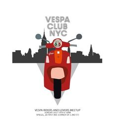 #VespaClubNYC Meetup for Vespa riders and Vespa lovers on Sunday July 19th 6-10pm at Spiegel - 26 First Ave, corner of E 2nd St. Please let us know number of people attending by logging on to http://on.fb.me/1M3SooK #VespaRiders #VespaGirls #DoYouVespa