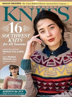 Interweave Knits Summer 2018 Technique: jogless cast-on and bind-off in the round Vogue Knitting, Knitting Books, Crochet Books, Free Knitting, Baby Knitting, Knitting Machine Patterns, Knitting Patterns, Crochet Patterns, Knitting Ideas