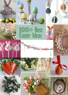 100+ Best Easter Ideas (decorations, eggs, recipes..)
