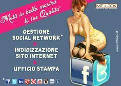 Gestione Social Network, Posizionamento del sito internet e ufficio stampa. Scopri le nostre offerte!