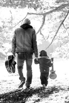 ¡De tal palo, tal astilla!... 20 Tiernas fotos de papás e hijos