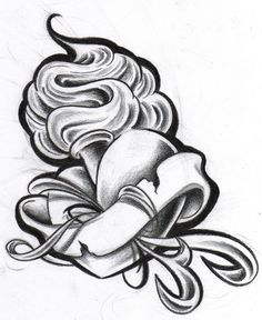 tattoo machine new school by Nate-O-Chasm on DeviantArt Rose Drawing Tattoo, Tattoo Design Drawings, Tattoo Sketches, Sick Drawings, Body Art Tattoos, Tribal Tattoos, Dossier Photo, Sacred Heart Tattoos, Heart Tattoo Designs