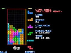 New Tetris record: Clearing 40 lines in less than 20 seconds