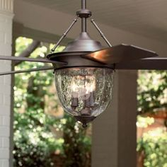 The ceiling fan for back porch!