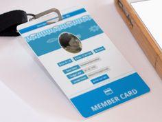 Member Card Karyasiswa by Reza Padillah