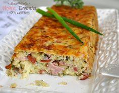 gatto-di-patate-bolo-pure-de-batata-monta-encanta3 Quiche, Lasagna, Sandwiches, Picnic, Soup, Potatoes, Favorite Recipes, Bread, Pure Products
