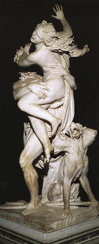 """BERNINI  """"Il Ratto di Proserpina"""" (The rape of Proserpina) Rigth side view  Galleria Borghese  ROME"""