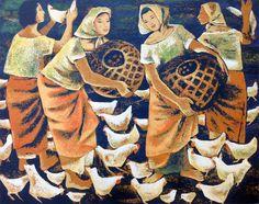 Anita Magsaysay-Ho | Cubist painter | Tutt'Art@ | Pittura • Scultura • Poesia • Musica