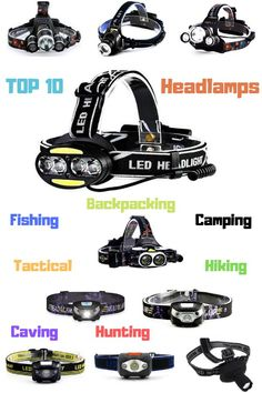 The Best Top 10 Outdoor Headlamps That Anyone Can Afford  Topics included: best headlamp, top headlights, outdoor headlamp, outdoor headlight, hiking headlamp, camping headlamp, headlamp, light, headlamps, tactical headlamps, camping headlamp. #backpacking #climbing #hiking #camping #hunting #tactical #survival #topheadlamps #headlight #headlamp #lights #outdoorheadlamp #bestheadlamp