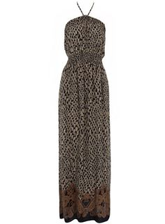 www.dorothyperkins.com - $59 - Ikat bandeau maxi dress