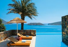 the Blue Palace Resort in Crete