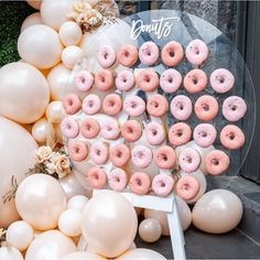 Donut grow up! My first doughnut wall 🍩 Kids grow up so fast! Let us all enjoy the sugar rush 🤤 — Groomsmen Proposal, Bridesmaid Proposal, Bridesmaid Bouquet, Bridesmaid Gifts, Wedding Bouquets, Wedding Place Cards, Wedding Thank You Cards, Wedding Make Up, Wedding Favours