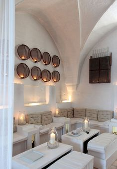 MASSERIA CIMINO Puglia -Italy Masseria Cimino, winner of the Tatler 101 Best Hotels Awards, is a melange of the Mediterranean | metal round wall sculpture