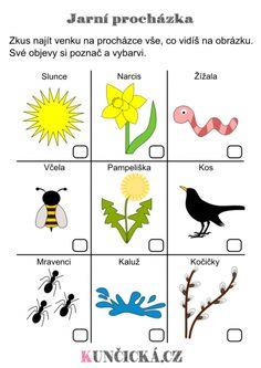 Jarní Play-Dough šablony k dozdobení - Kuncicka. Nature Activities, Spring Activities, Preschool Activities, Outdoor Activities, English Primary School, Teaching English, Spring Projects, Spring Crafts, Peta