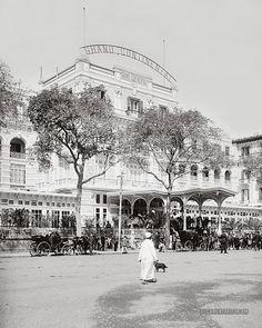 Grand Continental Hotel. Cairo, Egypt. 1900-1920
